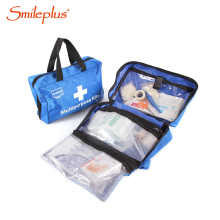 Nylon 600D multipurpose customized first aid kit for travel, office, family, car, promotion