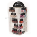 Acrylic Nail Polish Display Stand Rotatable