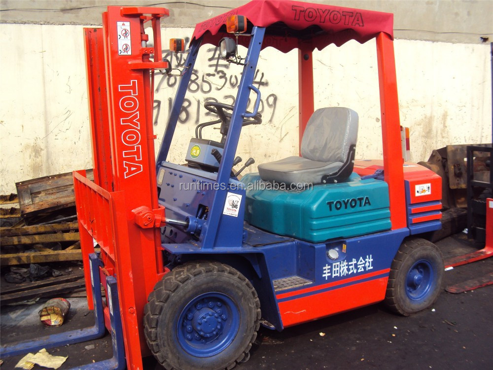 used/half new toyota forklift 3.5ton FD35, used toyota lift truck/diesel manual forklift 3.5ton