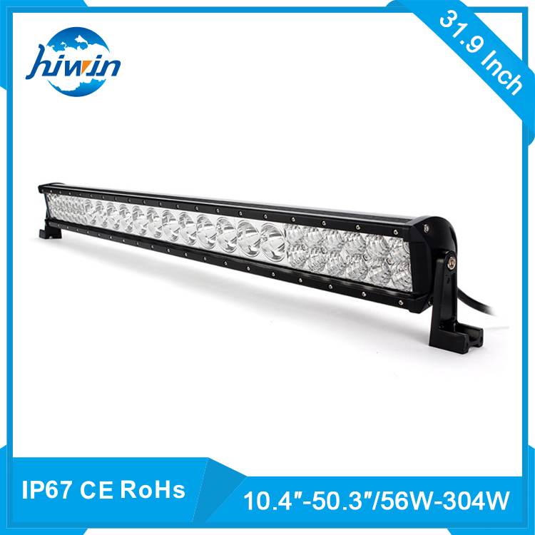 Hiwin CE And ROHS 200W 10-30V DC IP68 38 Inch Offroad Single Row LED Light Bar YP-8124
