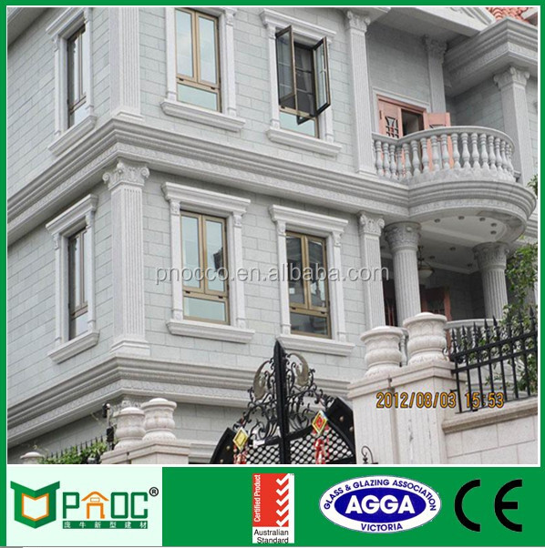 aluminium crank casement window with AS2047|fashionable aluminum swing window