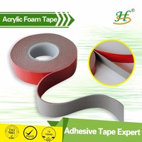 Waterproof double sided acrylic foam leather furniture tape