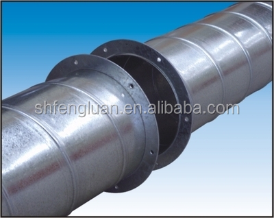 Galvanized circle flange duct fittings ductwork connector