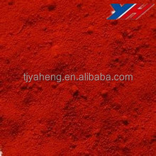 inorganic iron oxide pigments red 130 fe203 for cement tiles/wood mulch/colorant dye