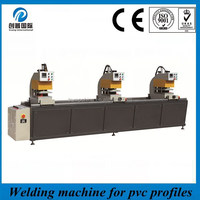 Three coner upvc windows and doors processing equipment