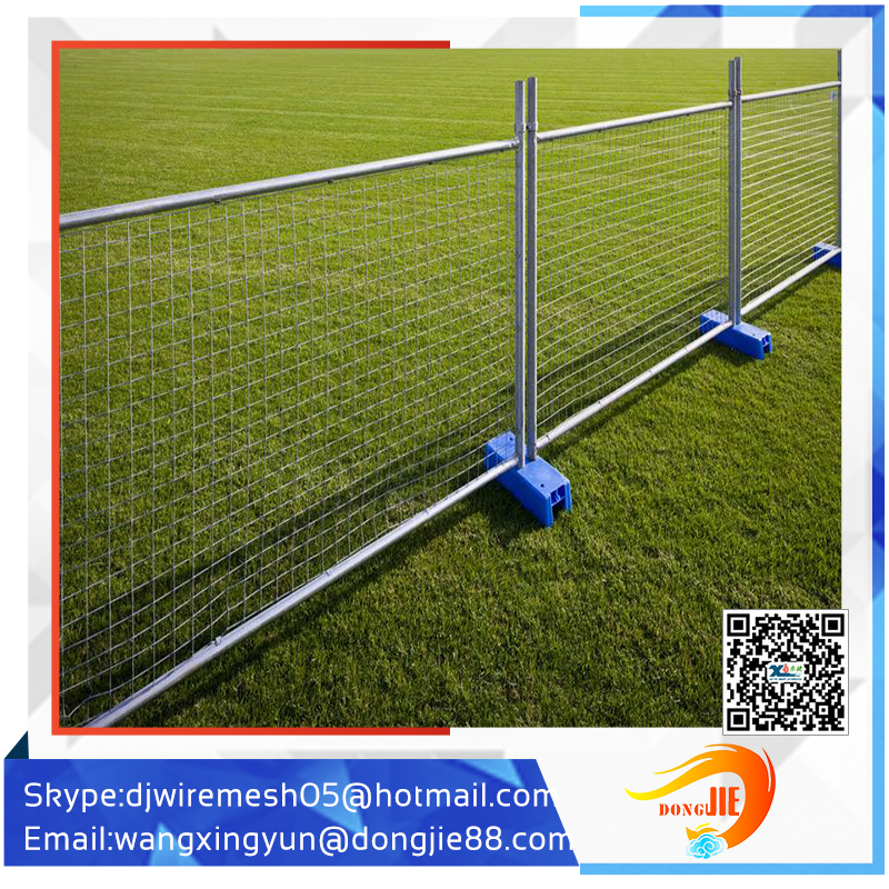 temporary fence post used fence for horse/portable iron mesh fencing panel