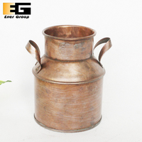 Retro Imitation Copper Kettle Milk Container