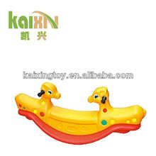 2015 Plastic Double Deer Seesaw Play Toy For Kids