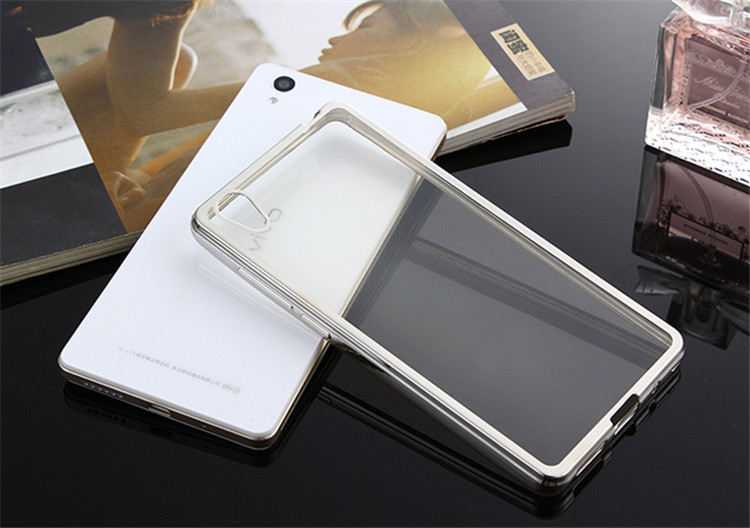 Ultra-thin tpu machine for vivo y51 transparent mobile phone case back cover