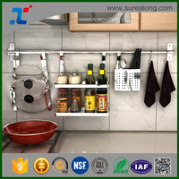 Good price of Rack Lid Organizer Kitchen appliance Stainless steel kitchen utensil