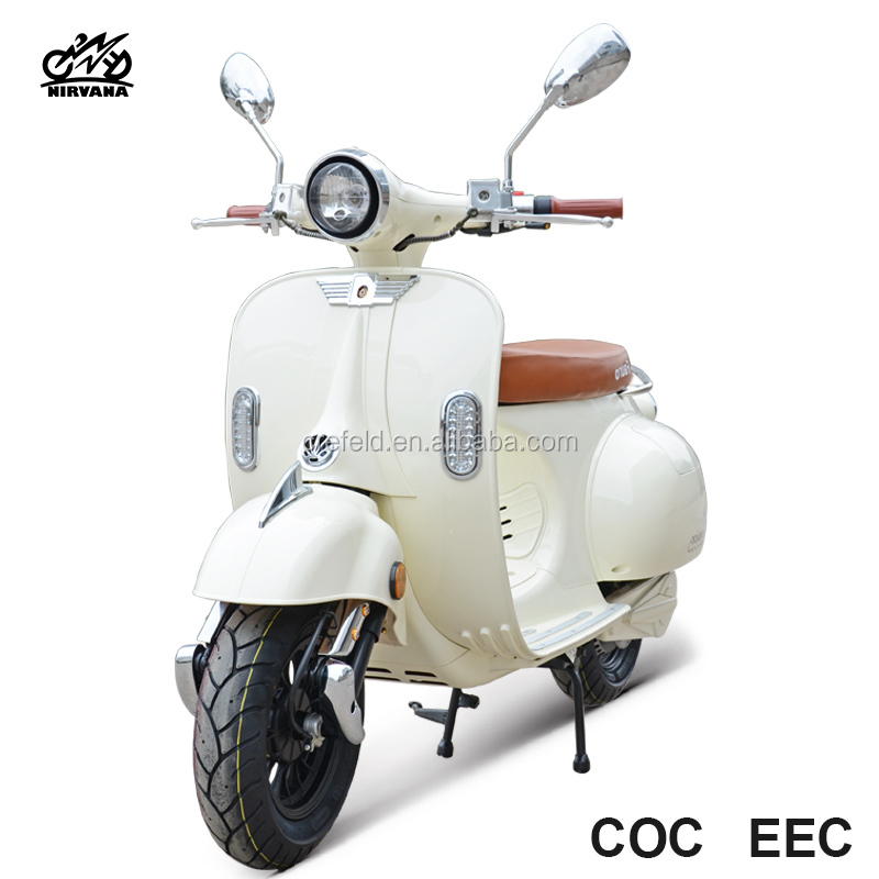 For sale Vespa S2 72v motorcycle electric motor popular 1200w motorbike with EEC