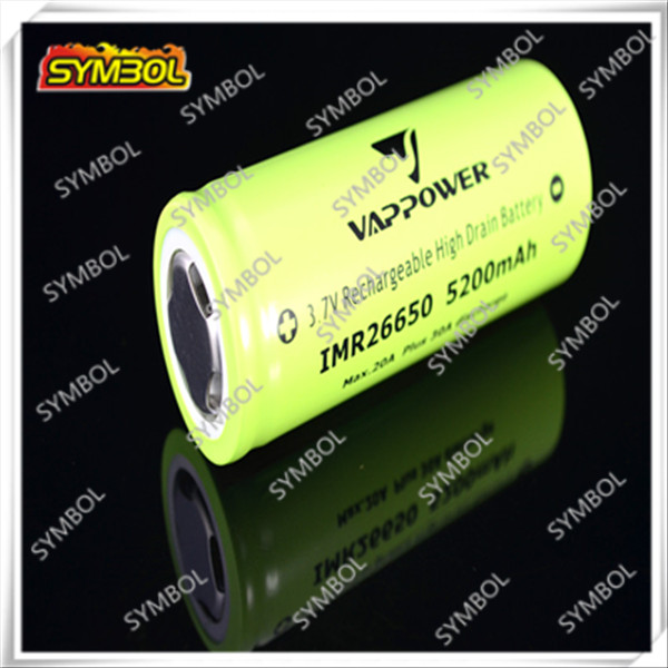 2014 New battery 26650 imr battery high drain battery Alibaba china manufacture