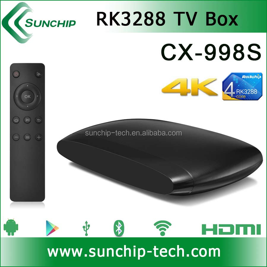RK3288 Quad core android 4.4 tv box support bluetooth 4.0, 4K*2K, XBMC, 2G+8G dual band android 4.4 tv box