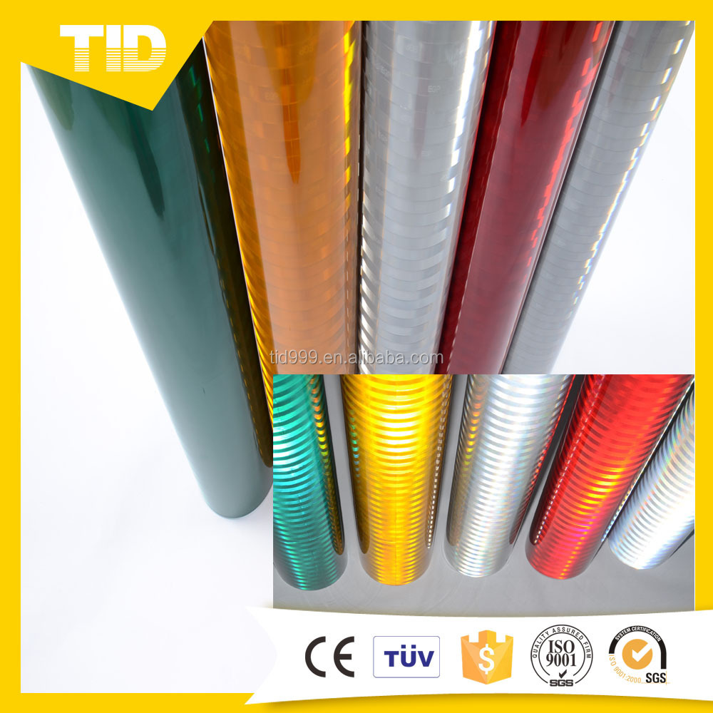 China Reflective Conspicuity Safety Marking Sheeting Comply with Fmvss 108 for Car