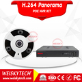 Weisky 2017 4pcs 720p Outdoor Ip Cctv Camera Onvif 4ch Hd Network Poe Nvr Kit
