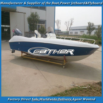 Gather Factory supply 18ft samll boat/speed boat/fiberglass speed boat