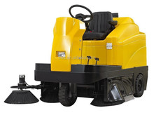 High quality eleactic road sweeper, floor sweeping machine