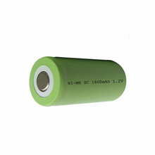 Professional manufacture coiled battery SC1800 ni-mh battery