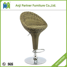 Hot selling adjustable control rattan weave bar stool (Malakas)