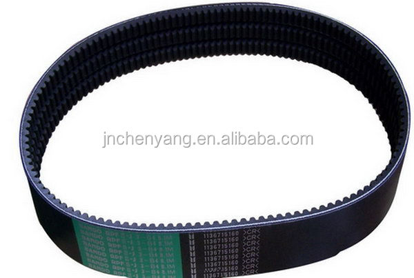 nylon rubber transmission timing belt with heat resistance