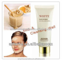 2014 Skin Whitening Herble Essence Tube Packed best whitening facial scrub
