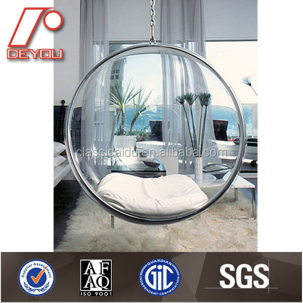swing egg chair, bubble chair,outdoor plastic chair H-100