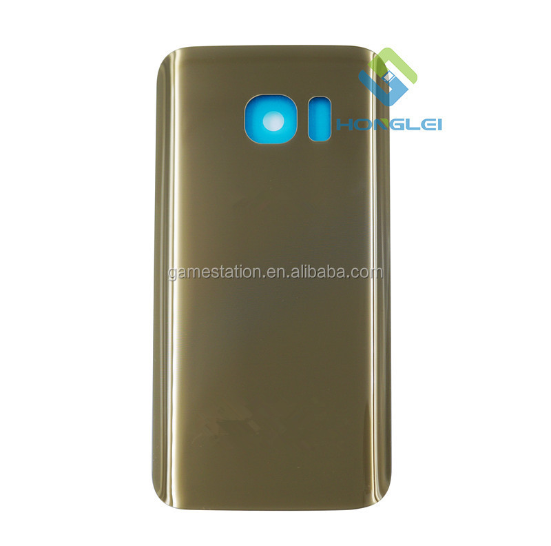 Mobile Spare Parts Original Glass Back Cover Housing Battery Back Door For Samsung Galaxy S7 Rear Case