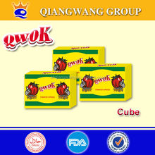 QWOK -Super Quality 10g halal chicken fish shrimp beef tomato seasoning bouillon cube spices cube tablet seasoning