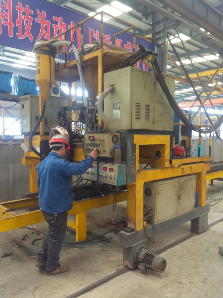 Gantry Girder Welding
