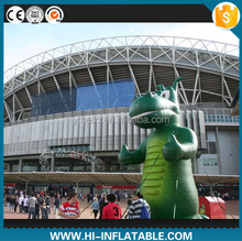 advertising/promotional giant inflatable cartoon green dinosaur model