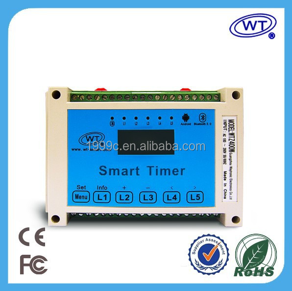 Smart irrigation timer controller with automatic watering system