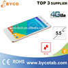 low price 4g lte android mobile phone celulares /slim handphone/5.5'' touch smart phone
