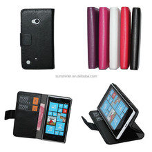 Wholesale Alibaba Wallet Fip Leather Case Cover For Nokia Lumia 720 Mobile Phone