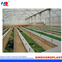 PP 4mm Corrugated Plastic Roofing