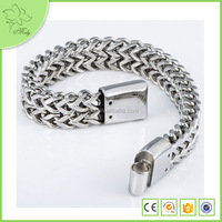 Wholesale Alibaba Chain Bracelet Medical Alert Bracelet Stainless Steel Medical Bracelet for Men