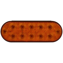 ECE approved 54LEDs 18Amber&15Red&18White, 40cm wiring, Multivolt 12V&24V Stop/Tail/Indicator Reverse lamp