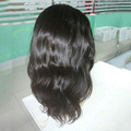 Top quality brazilian human hair lace front wig with baby hair, supply natural straight human hair wig
