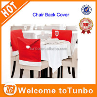 Latest fashion kitchen dining santa chair back covers christmas table decoration ideas
