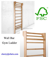 Swedish wall bars gym ladder home gym for kids
