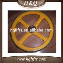 lg elevator wheel 456*35,lg escalator wheel sheave
