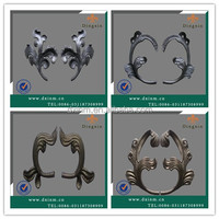 The decorative fence inserts cast iron fence elements simple gate design
