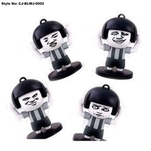 Funny Expression Plastic Fantastic Changing Face Doll