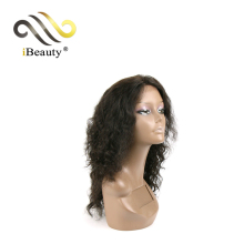 100% Good Feedback Preferential Price Bright And Smooth Full Yaki Afro Brazilian Kinky Curly Lace Wig