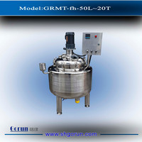 Stainless steel detergent electric heating mixing tank