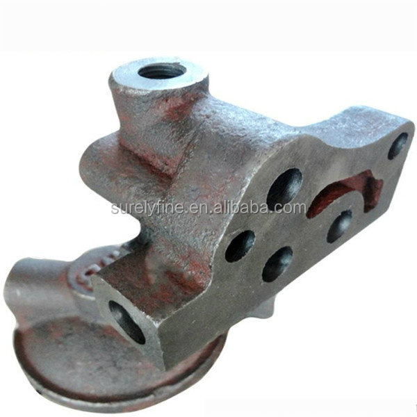 Cast iron flanged pipe fitting hardware component