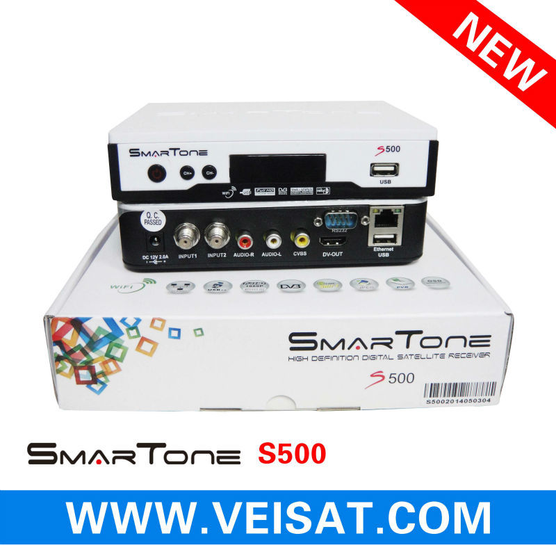 receiver smartone s500 support free iks for South america