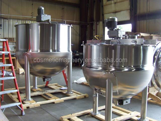 tilting jacketed kettle candy cooking pot industrial steam cooking pot