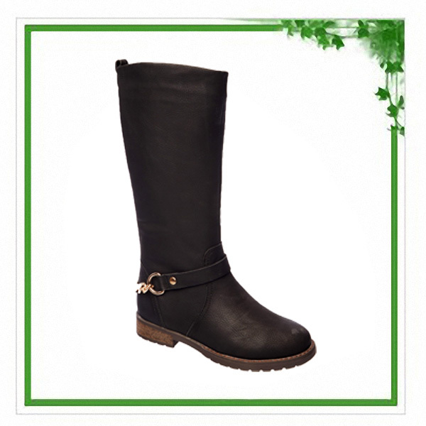 High Quality Comfortable Fashion Italian Winter Leather Boots Women 2014