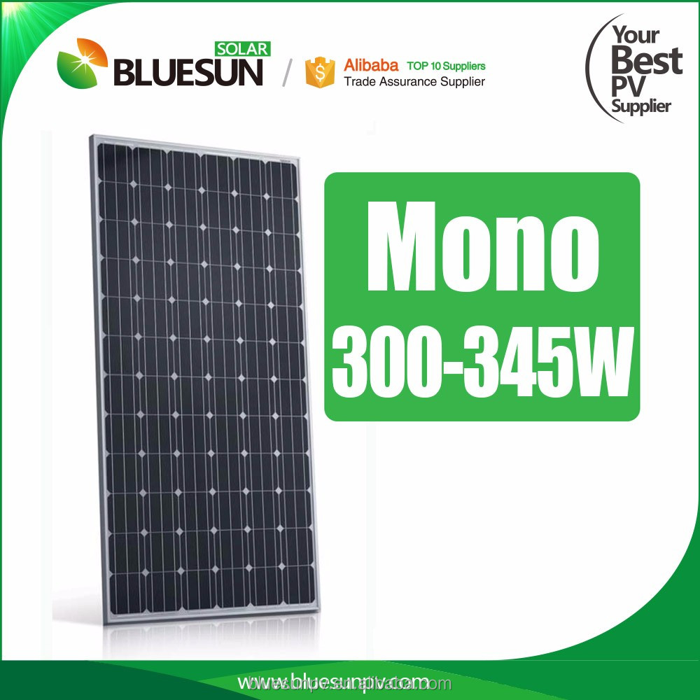 TOP selling best price mono solar roof panel 310w 320w 330w 340w 345w