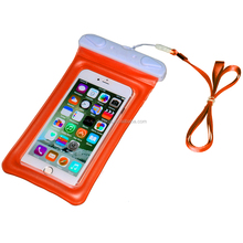 New Arrival high quality tpu cell phone waterproof bag for iPhone 6/7plus